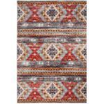 LUXOR living Kelim In- und Outdoorteppich BONNIE 160 x 230 cm rot/mehrfarbig