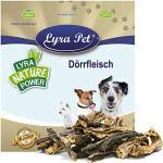 Lyra Pet® 1 kg Rinderdörrfleisch 1000 g Dörrfleisch Rind Kauartikel Snack Hund