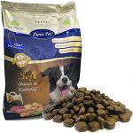 Lyra Pet® 4 kg + 200 g gratis High Premium Dog Soft Strauß & Kartoffel Trockenfutter Allergiker Hundefutter Zahnpflege Hunde