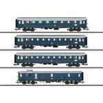 """MÄRKLIN 42228 H0 Schnellzugwagen-Set zur BR E 17 Bauart """"Hecht"""", DB, Ep. III"""