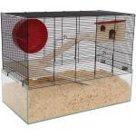 Mäuse- & Hamsterheim - Kleintierkäfig MINNESOTA inkl. kompletter Ausstattung