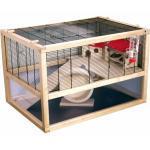 Mäusekäfig Hamsterkäfig SAN MARINO 80 DELUXE mit kompletter Ausstattung
