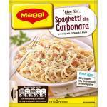 Maggi Fix für Spaghetti alla Carbonara - Nudeln mit Schinken und Sahne - italienisch, 14er Pack (14 x 34 g)