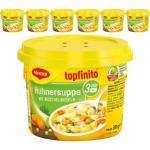 Maggi Topfinito, 6er Pack, Hühnersuppe mit Muschelnudeln