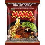 MAMA Instantnudeln mit dem Geschmack von geschmortem Rindfleisch – Instantnudelsuppe orientalischer Art – Authentisch thailändisch kochen – 24 x 60 g