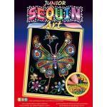 MAMMUT Sequin Art Junior - Paillettenbild - Schmetterling