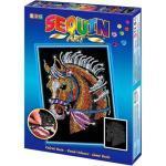 MAMMUT Sequin Art - Paillettenbild - Pferd