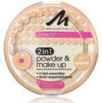 Manhattan Clearface 2in1 Powder & Make Up Kompaktpuder 11 g Nr. 77 - Natural