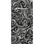 Mank Besteckservietten Airlaid Lias in Schwarz-Silber, 40 x 40 cm, 75 Stück - Ornamente Bestecktaschen 4045825440002 (2)