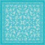 Mank Tischdecke Airlaid Lace in Türkis, 80 x 80 cm, 20 Stück - Mitteldecke Ornamente Rosen Floral Tischtuch 4045825443935 (2)