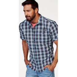 Man's World Kurzarmhemd mit kleinem Print