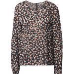 Marc Cain Langärmeliges Blusenshirt aus Viskose mit Allover-Muster