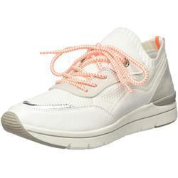 Marco Tozzi Damen 2-2-23729-24 Sneaker, Weiß (White/Neon 179), 41 EU