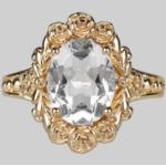 Silberne Vintage Ringe 18 Karat