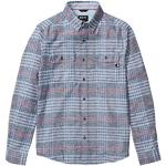 Marmot Herren Langärmeliges Outdoor-Hemd, Wander-Shirt Mit Uv-Schutz, Atmungsaktiv Jasper Midweight Flannel Long Sleeve, Arctic Navy Heather, M, 42590