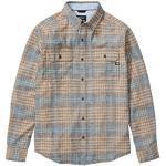 Nachhaltige Langärmelige Marmot bluesign Herrenhemden mit Knopf für den Herbst