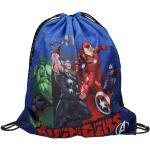 Marvel turnbeutel The Avengers Armor Up 5 Liter Polyester blau