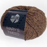 Mary's Tweed von Lana Grossa, Dunkelbraun