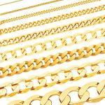 Goldene Panzerketten zur Kommunion für Damen