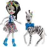 Mattel® Anziehpuppe »Enchantimals Themenpack Zelena Zebra«