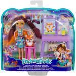 Mattel® Anziehpuppe »Mattel GBX03 - Enchantimals - Spielset mit Figuren, Kunststudio«