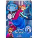 MATTEL CBC62 Frozen Die Eiskönigin - völlig unverfroren Eisläuferin Anna