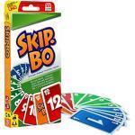 Mattel Games 52370 Skip-Bo: Beim Skip-Bo ist die strategische Vorgehensweise unerlässlich. Für 2 - 6 Spieler ab 8 Jahren