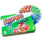 Mattel Games L3671 Skip-Bo Deluxe in Metalldose Kartenspiel, geeignet für 2 - 6 Spieler, Spieldauer ca. 30 Minuten, ab 7 Jahren