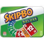Mattel Games SKIP-BO Deluxe Metallbox, Kartenspiel, Familienspiel, Kinderspiel
