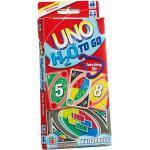 Mattel Games UNO H2O To Go, wasserfestes Kartenspiel, Reisespiel, Familienspiel