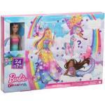 MATTEL GJB72 Barbie Dreamtopia Adventskalender 2020 mit Puppe (blond) und Puppen-Zubehör