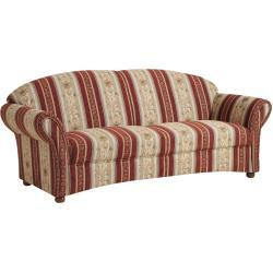 Max Winzer Corona Sofa 2,5-Sitzer rot