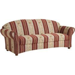 Max Winzer Corona Sofa 2,5-Sitzer rot Chenille (913,99 € pro 1 stk.)