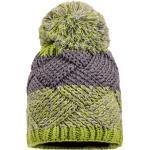 maximo Wintermütze Jungen grau-grün