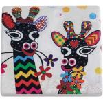 Maxwell & Williams Untersetzer Smile Style Zarafa 9,5 X 9,5 Cm Keramik/kork Mehrfarbig