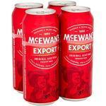 McEwan's Original Scottish Export Ale 4x500ml Alc. 4.5% Vol. - eines der bekanntesten schottischen Biere weltweit
