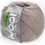 McWool Cotton Mix 130 uni von Lana Grossa, Beigebraun