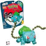 MEGA BRANDS GVK83 Mega Construx Pokémon Medium Bisasam, Bauset, Bausteine, Sammelfigur, 175 Teile