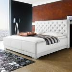 Weiße Meise Betten