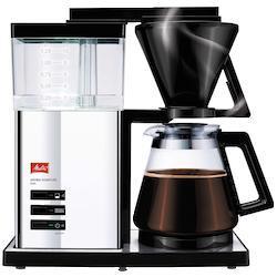 Melitta Filterkaffeemaschine Aroma Signature Deluxe Style 100704, Papierfilter 1x4 schwarz Kaffee Espresso Haushaltsgeräte Kaffeemaschine