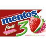 Mentos Kaugummi mit Erdbeere, grüner Apfel & Himbeere, zuckerfrei (14 Stück) (33 g)