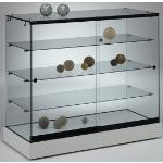 Weiße Theken abschließbar Breite 100-150cm, Höhe 100-150cm, Tiefe 100-150cm