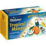 Meßmer Früchte-Tee, Hawaii Kiss Tropical Mango (20 x 2,5 g) (50 g)