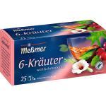 Meßmer Kräuter-Tee, 6 Kräuter (25 x 2 g) (50 g)