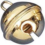 Metallglöckchen 24mm gold 4er-Beutel