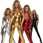 metallische zentai anzüge body unisex ohne kapuze catsuit haut anzug ninja motorrad mädchen catwoman kinder erwachsene spandex cosplay kostüme einfarbige weihnachten halloween maskerade trikot Lightinthebox