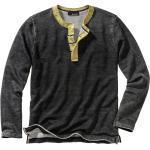 Mey & Edlich Herren Shirt Lebenskünstler-Sweatshirt grau 46, 48, 50, 52, 54, 56, 58
