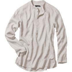 Mey & Edlich Herren Wüsten-Shirt Stehkragen beige 38, 39, 40, 41, 42, 43, 44, 45, 46