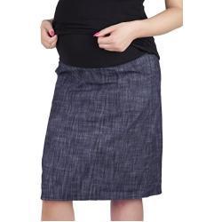 Blaue Sportliche Umstandsbleistiftröcke für Damen