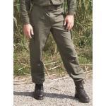 Olivgrüne Mil-Tec Moleskin-Hosen für Herren Übergrößen